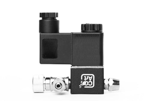 12V DC CO2 Solenoid Valve with build in Needle Valve - Safe - Low Power - Cool Touch for Planted Aquarium - CO2Art.co.uk | Aquarium CO2 Systems and Aquascape Specialists