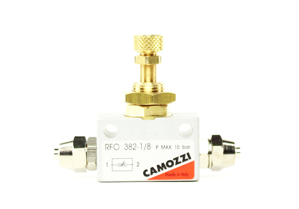 Camozzi Advance CO2 Flow Controller Needle Valve - CO2Art.co.uk | Aquarium CO2 Systems and Aquascape Specialists  - 1