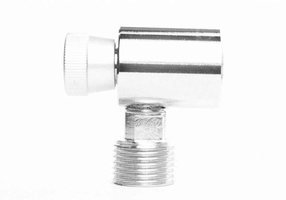 Advanced Adapter for Paintball Cylinder for use with Standard Aquarium CO2 Regulators