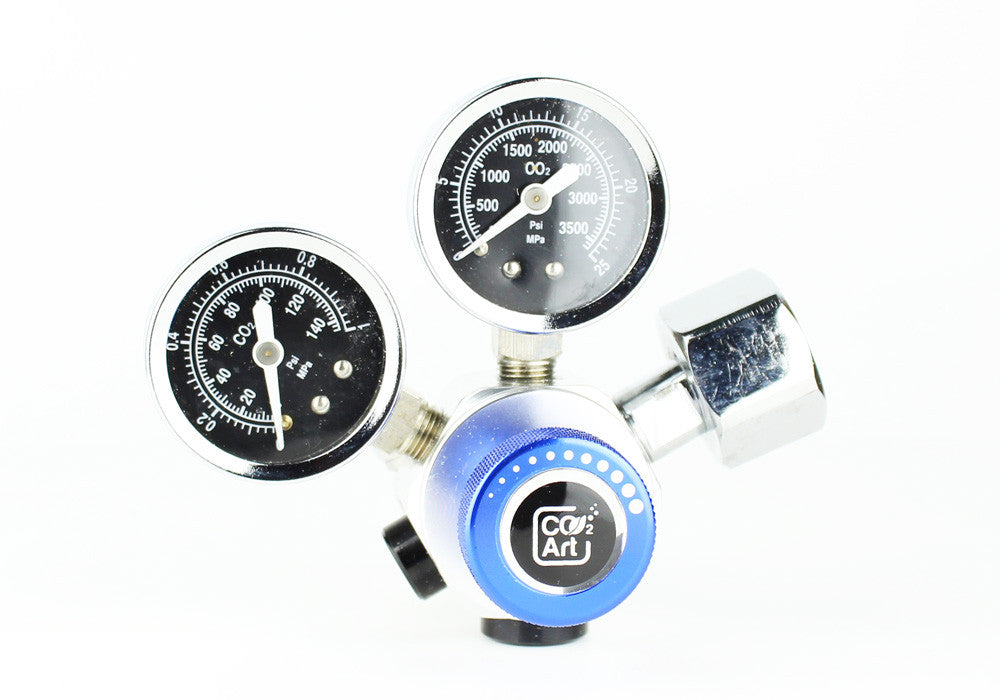 Professioneel Aquarium CO2 Dual Stage Regulator - CO2Art.be | Aquarium CO2-systemen en Aquascape-specialisten - 5