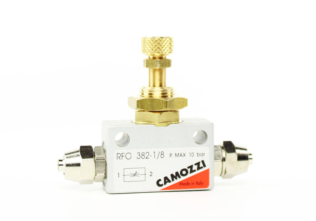 Camozzi Advance CO2 Flow Controller Needle Valve - CO2Art.co.uk | Aquarium CO2 Systems and Aquascape Specialists  - 2