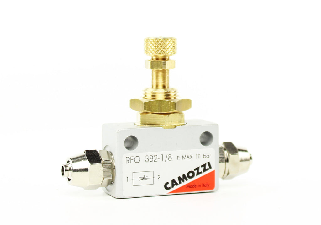 Camozzi Advance CO2 Flow Controller Needle Valve - CO2Art.co.uk | Aquarium CO2 Systems and Aquascape Specialists  - 3