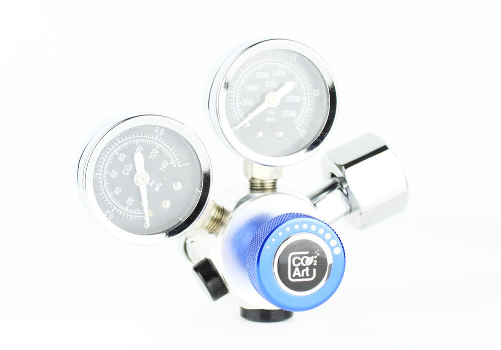 Professional Aquarium CO2 Dual Stage Regulator - CO2Art.co.uk | Aquarium CO2 Systems and Aquascape Specialists  - 4