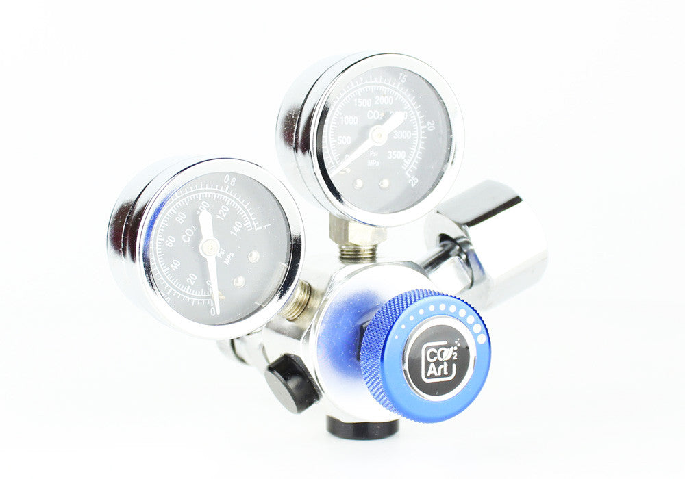 Professioneel Aquarium CO2 Dual Stage Regulator - CO2Art.be | Aquarium CO2-systemen en Aquascape-specialisten - 2