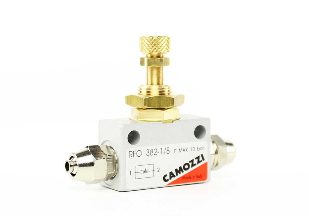 Camozzi Advance CO2 Flow Controller Needle Valve - CO2Art.co.uk | Aquarium CO2 Systems and Aquascape Specialists  - 4