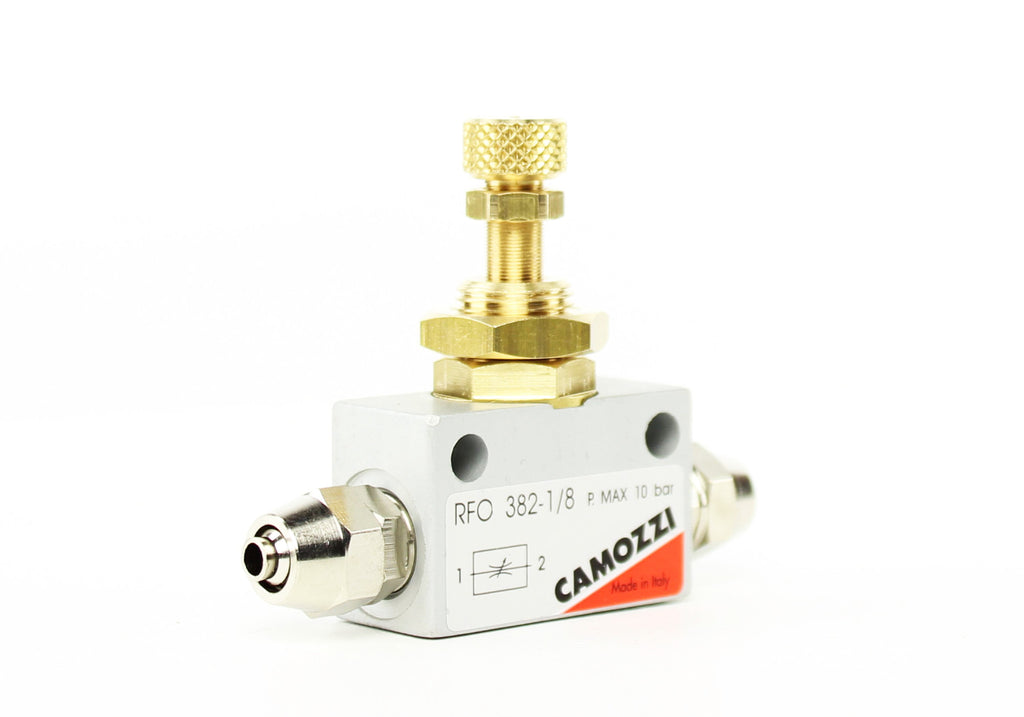 Camozzi Advance CO2 Flow Controller Needle Valve - CO2Art.co.uk | Aquarium CO2 Systems and Aquascape Specialists  - 5
