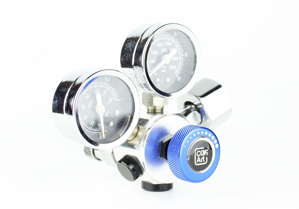 Professional Aquarium CO2 Dual Stage Regulator - CO2Art.co.uk | Aquarium CO2 Systems and Aquascape Specialists  - 3