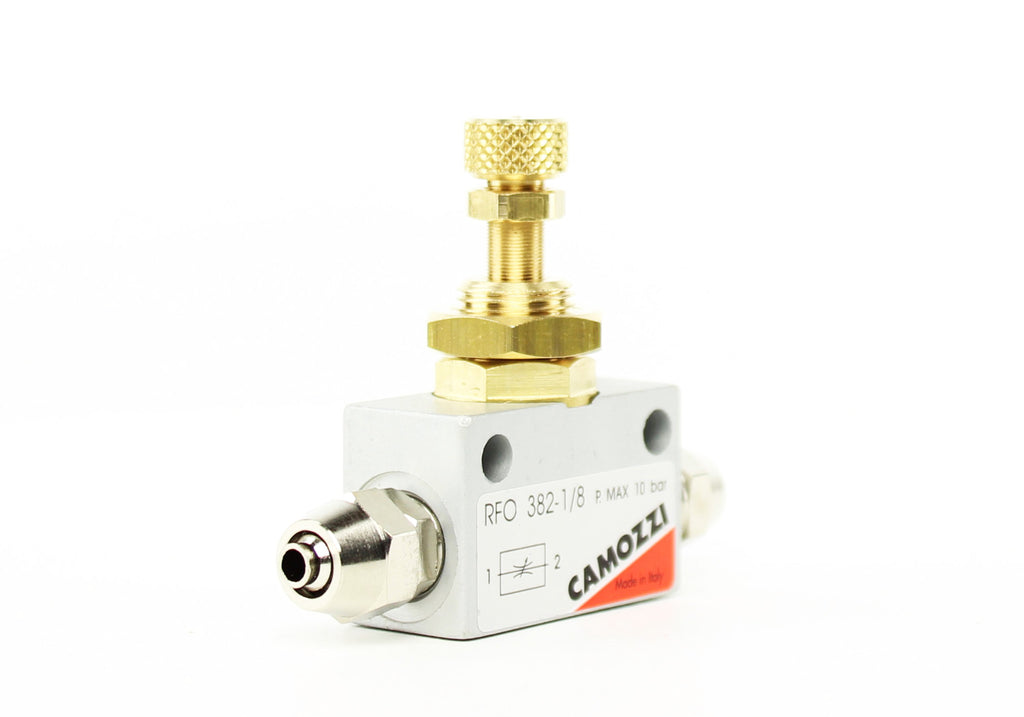 Camozzi Advance CO2 Flow Controller Needle Valve - CO2Art.co.uk | Aquarium CO2 Systems and Aquascape Specialists  - 6