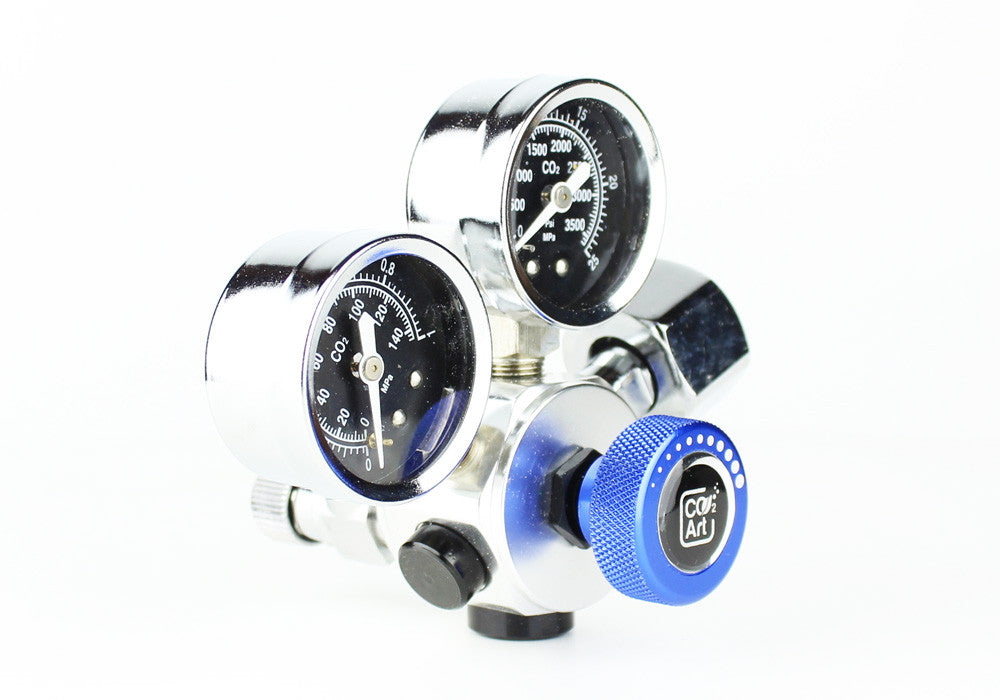 Professional Aquarium CO2 Dual Stage Regulator - CO2Art.co.uk | Aquarium CO2 Systems and Aquascape Specialists  - 6