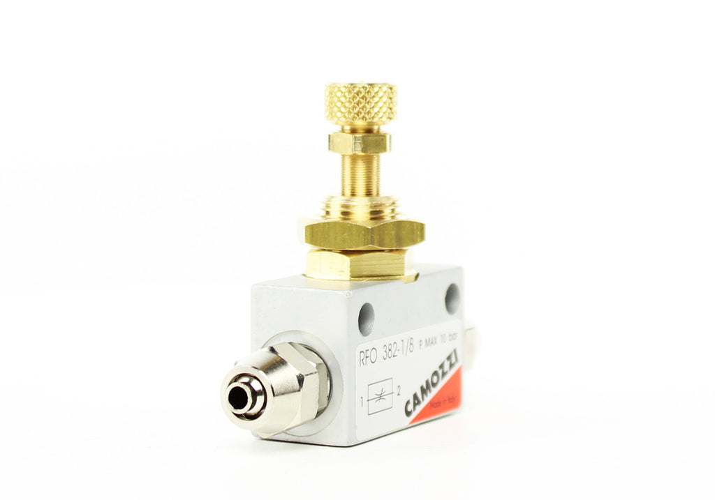 Camozzi Advance CO2 Flow Controller Needle Valve - CO2Art.co.uk | Aquarium CO2 Systems and Aquascape Specialists  - 7