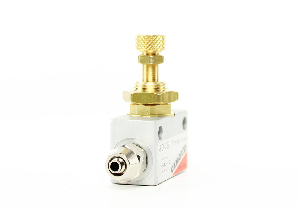 Camozzi Advance CO2 Flow Controller Needle Valve - CO2Art.co.uk | Aquarium CO2 Systems and Aquascape Specialists  - 8