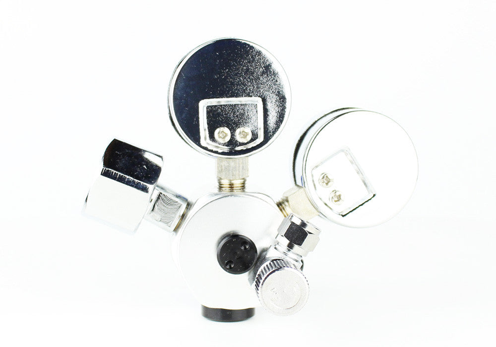 Professioneel Aquarium CO2 Dual Stage Regulator - CO2Art.be | Aquarium CO2-systemen en Aquascape-specialisten - 24