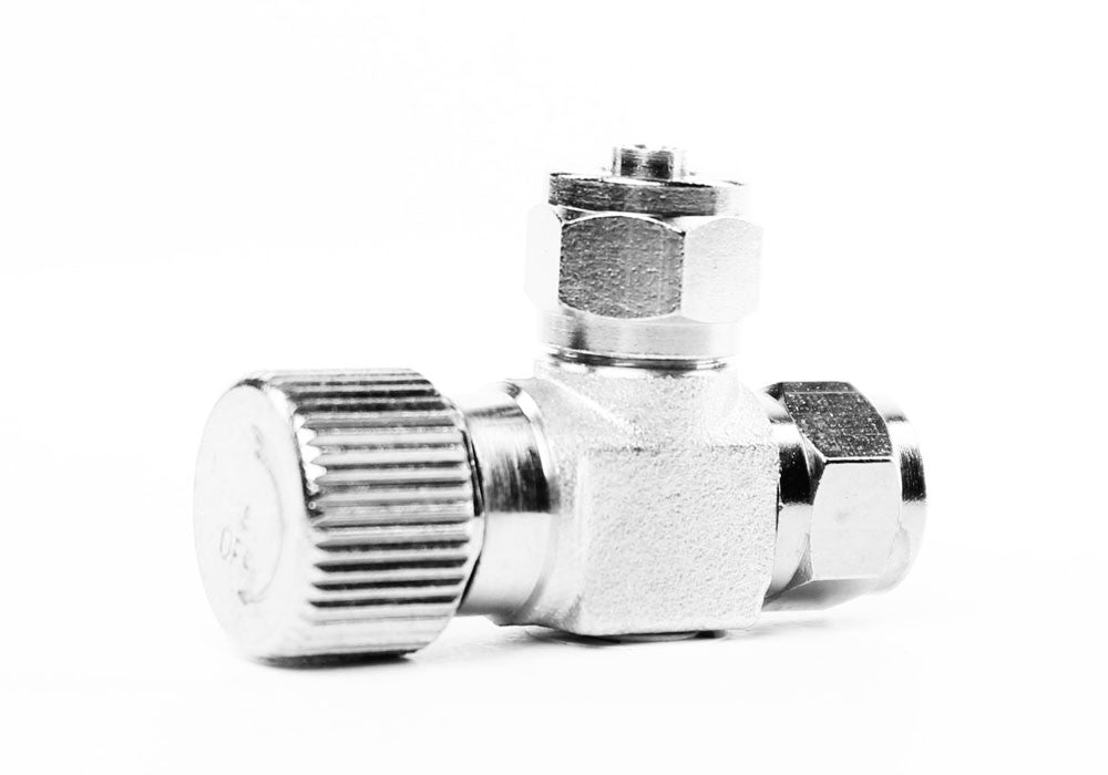 Aquarium Brass CO2 Needle Valve for DIY CO2 System Co2 Diffuser Regulator - CO2Art.co.uk | Aquarium CO2 Systems and Aquascape Specialists  - 22