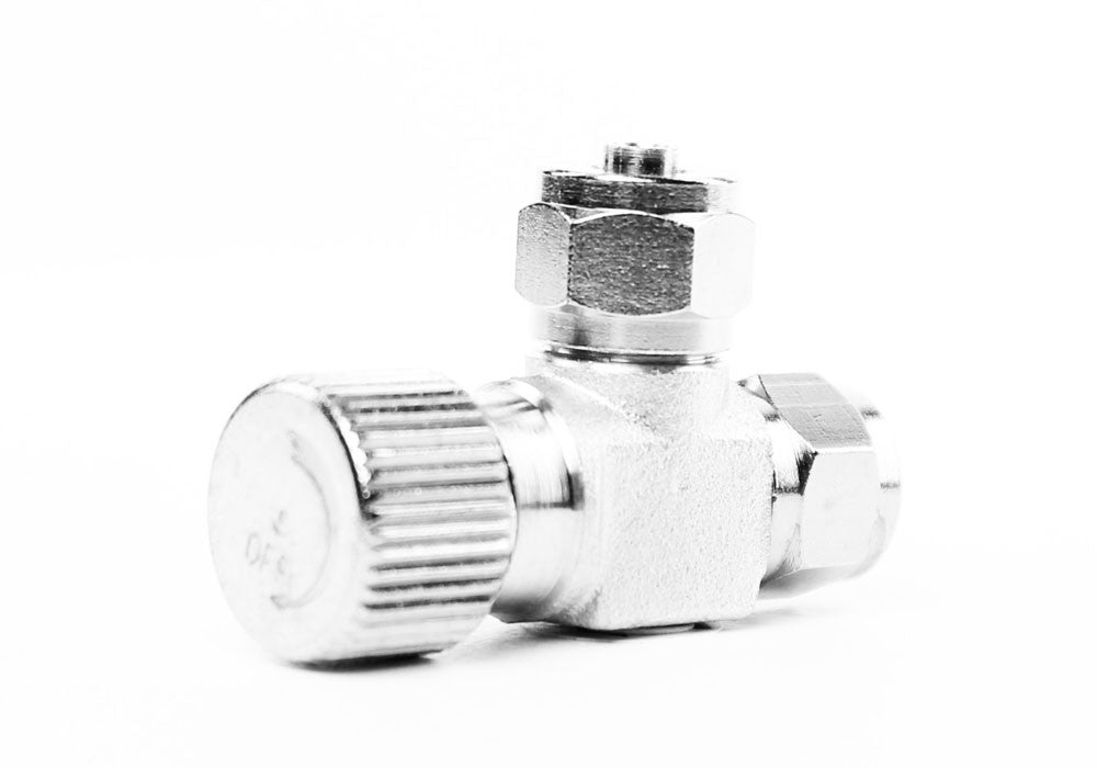 Aquarium Brass CO2 Needle Valve for DIY CO2 System Co2 Diffuser Regulator - CO2Art.co.uk | Aquarium CO2 Systems and Aquascape Specialists  - 23