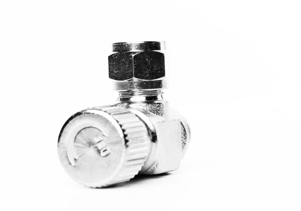 Aquarium Brass CO2 Needle Valve med 1 / 8 NPT gevindstang til solenoider og regulatorer - CO2Art.co.uk | Aquarium CO2 Systems og Aquascape Specialists - 26