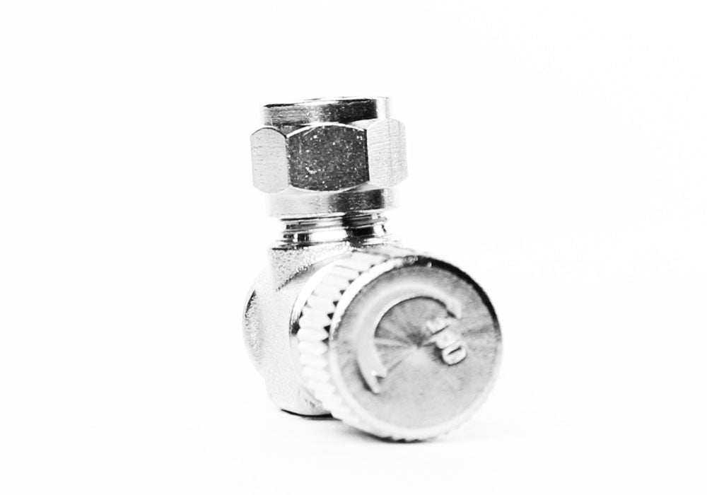 Aquarium Brass CO2 Needle Valve med 1 / 8 NPT gevindstang til solenoider og regulatorer - CO2Art.co.uk | Aquarium CO2 Systems og Aquascape Specialists - 30