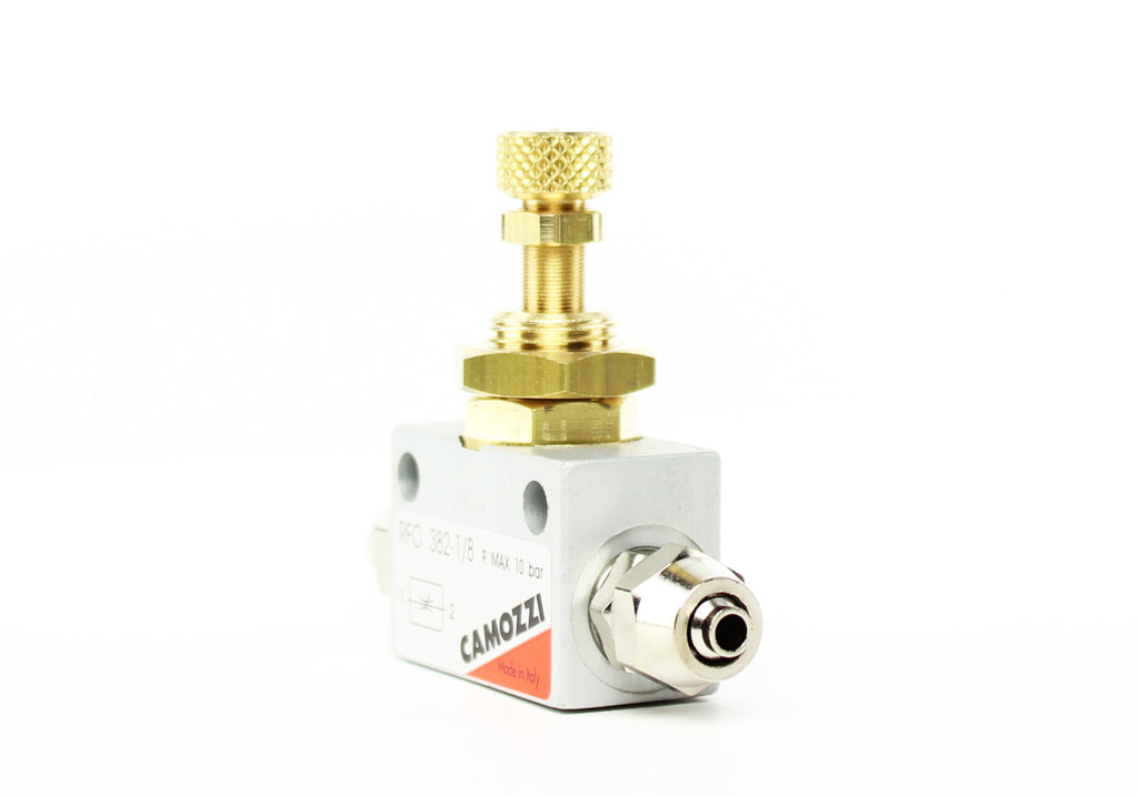 Camozzi Advance CO2 Flow Controller Needle Valve - CO2Art.co.uk | Aquarium CO2 Systems and Aquascape Specialists  - 31