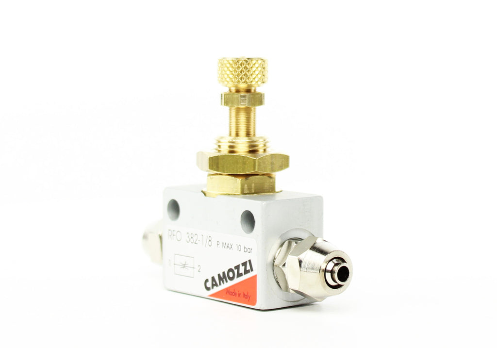 Camozzi Advance CO2 Flow Controller Needle Valve - CO2Art.co.uk | Aquarium CO2 Systems and Aquascape Specialists  - 32