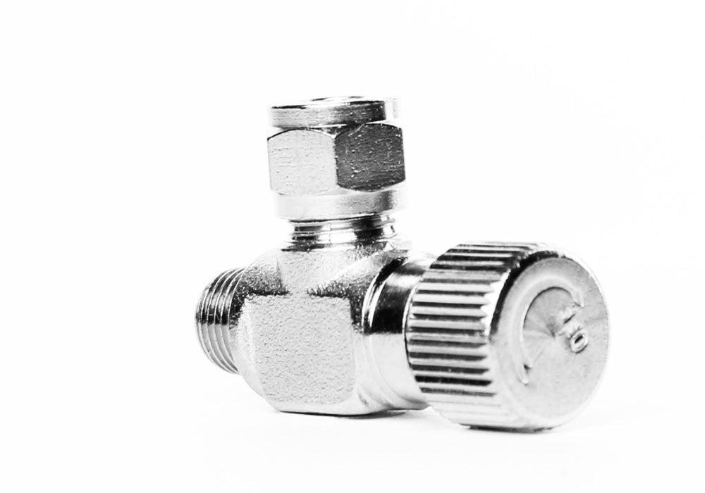 Aquarium Brass CO2 Válvula de aguja con rosca macho 1 / 8 NPT para solenoides y reguladores - CO2Art.es | Especialistas en Aquarium CO2 Systems y Aquascape - 33