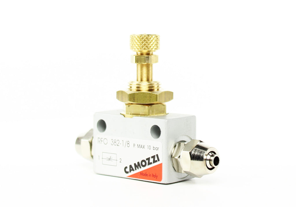 Camozzi Advance CO2 Flow Controller Needle Valve - CO2Art.co.uk | Aquarium CO2 Systems and Aquascape Specialists  - 33