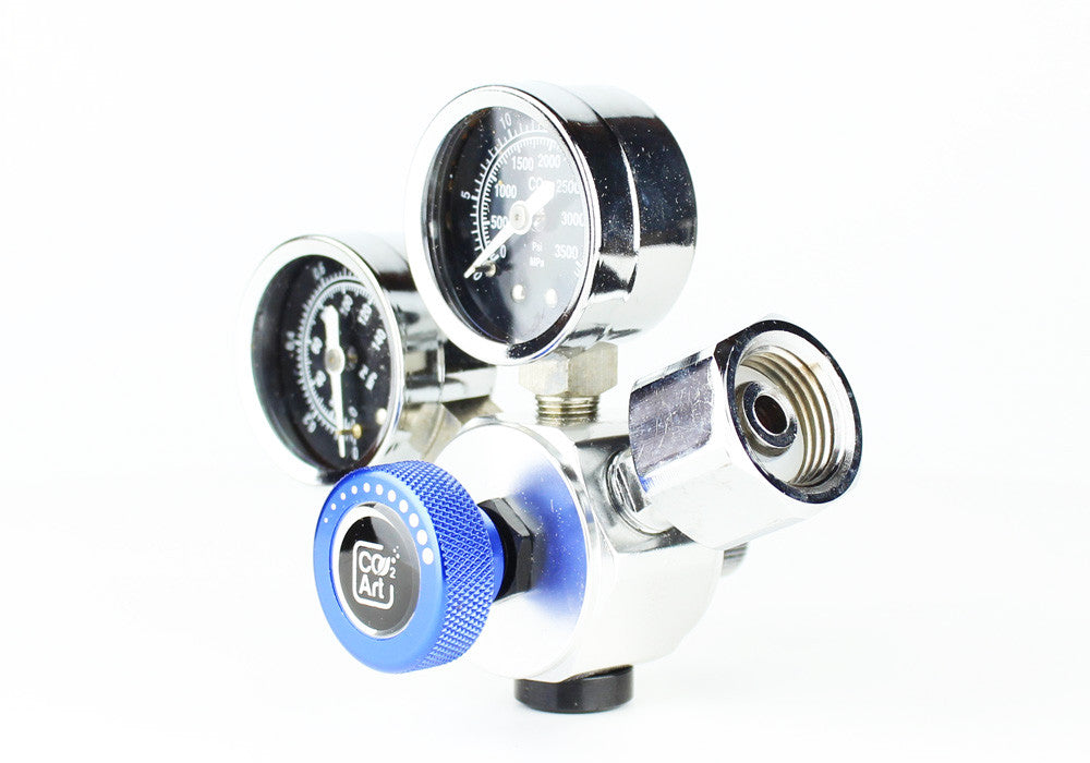 Professioneel Aquarium CO2 Dual Stage Regulator - CO2Art.be | Aquarium CO2-systemen en Aquascape-specialisten - 35