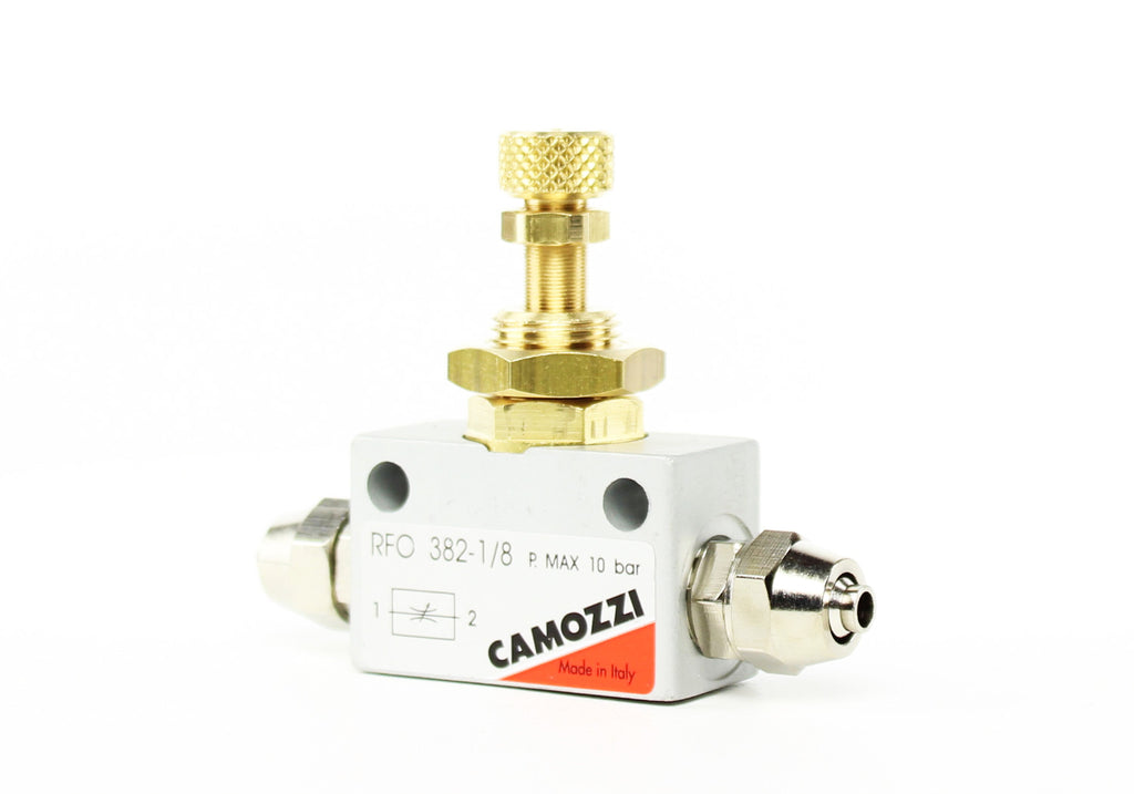 Camozzi Advance CO2 Flow Controller Nålventil - CO2Art.co.uk | Aquarium CO2 Systems og Aquascape Specialists - 34