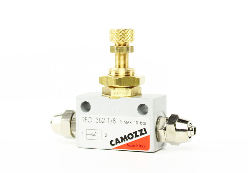 Camozzi Advance CO2 Flow Controller Needle Valve - CO2Art.co.uk | Aquarium CO2 Systems and Aquascape Specialists  - 35