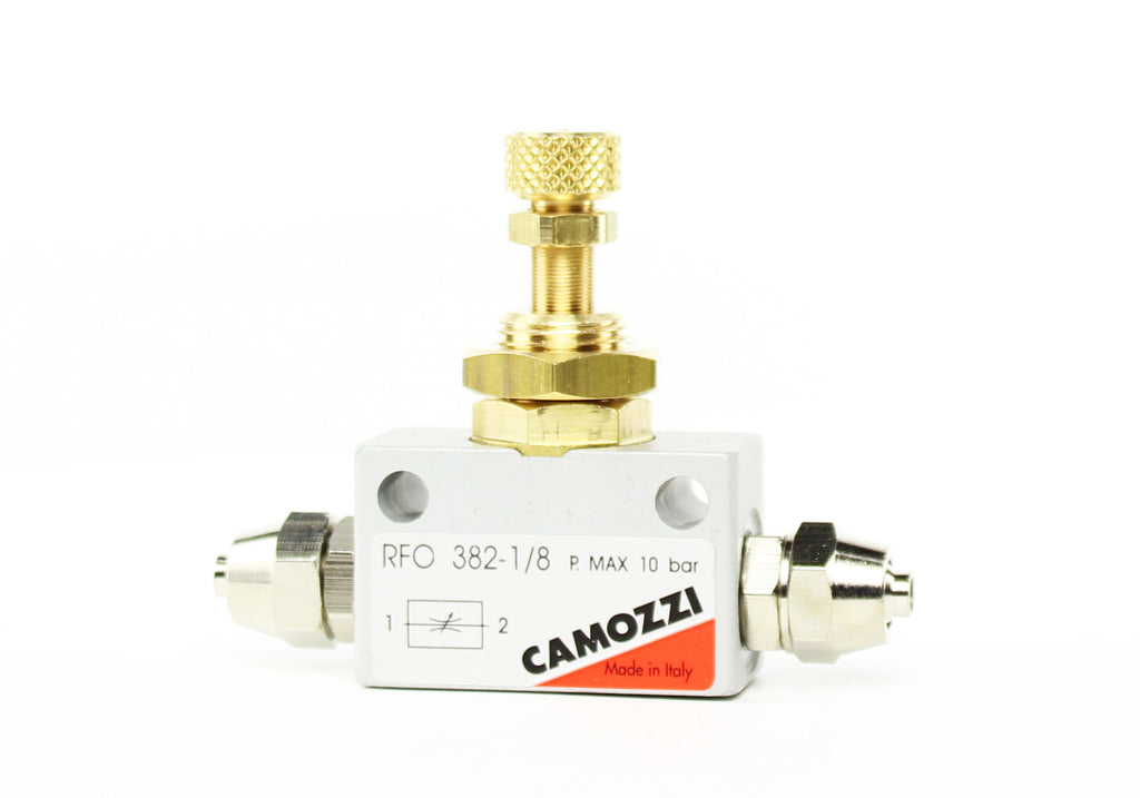Camozzi Advance CO2 Flow Controller Needle Valve - CO2Art.co.uk | Aquarium CO2 Systems and Aquascape Specialists  - 36