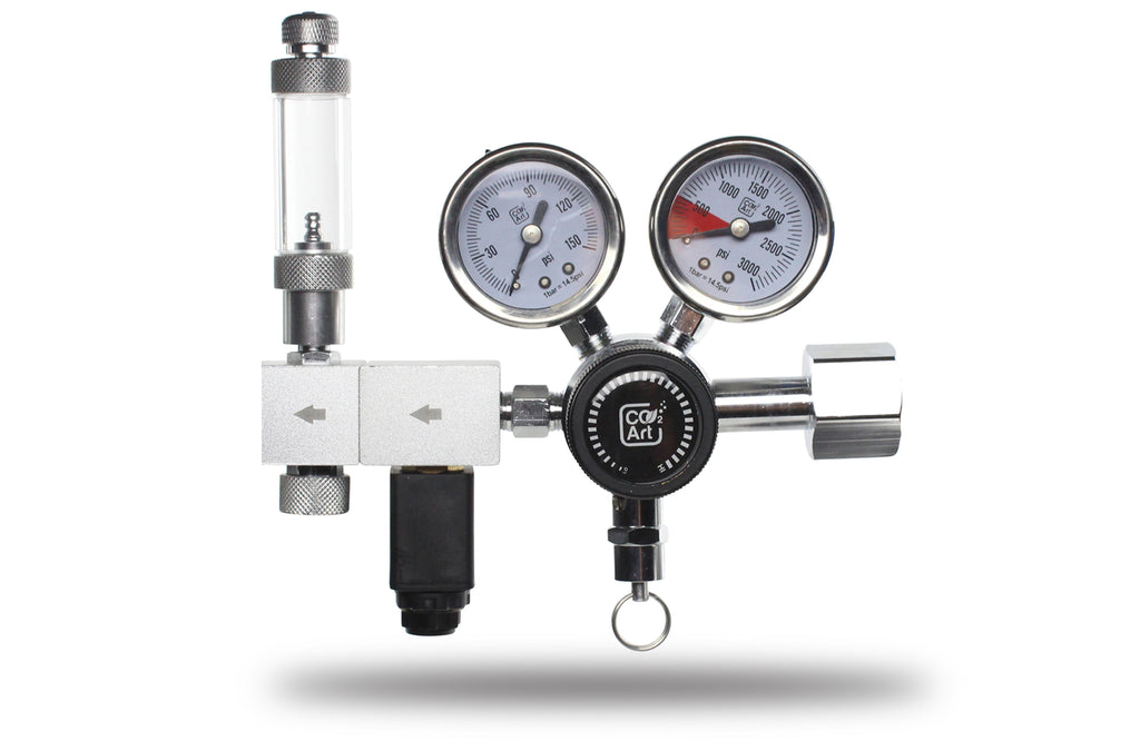 Pro-Elite-serien Den mest avancerede akvarium CO2 Dual Stage Regulator