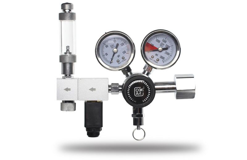 Pro-Elite-serien Det mest avancerede akvarium CO2 Dual Stage Regulator
