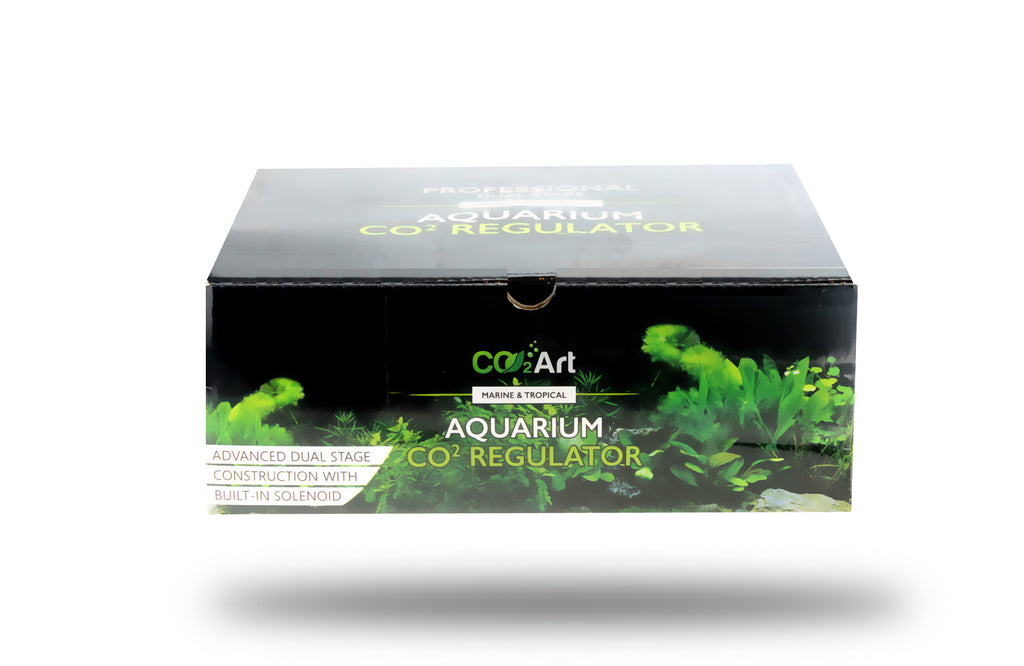 Série PRO-SE - Aquarium CO2 Regulador Dual Stage com Solenóide Integrado