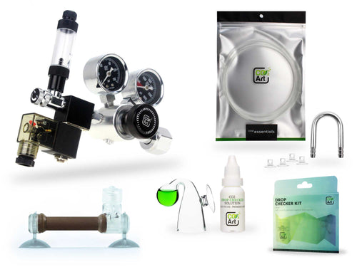 Pro-SE Series Complete Aquarium CO2 System with in-tank Flux_ Diffuser