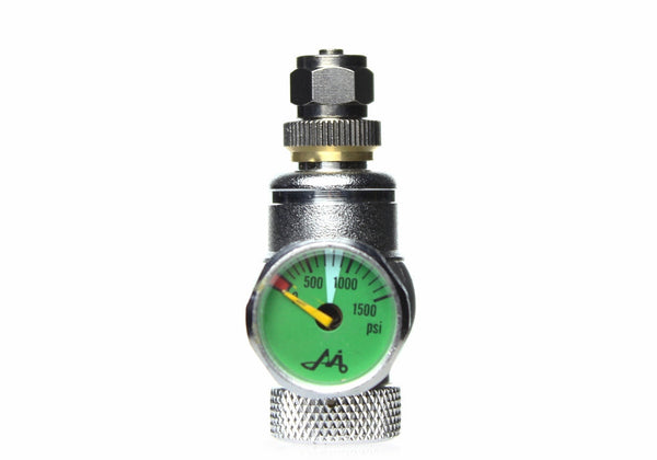 CO2 Disposable Cylinder Regulator med One Gauge MIG Gass
