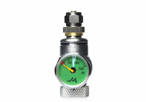 CO2 Disposable Cylinder Regulator with One Gauge MIG Gas - CO2Art.co.uk | Aquarium CO2 Systems and Aquascape Specialists