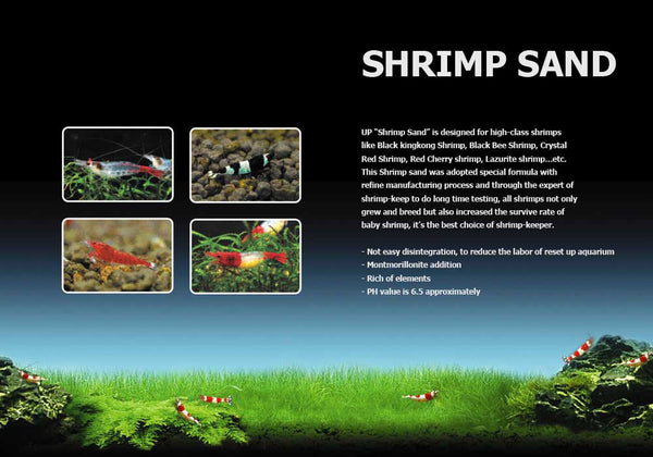 UP Aqua Shrimp Sand - 2kg
