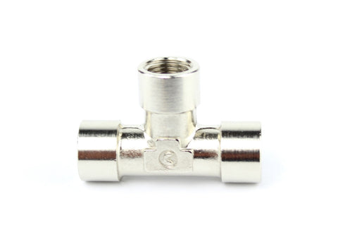 1/8 Female Tee - Manifold Extension - CO2Art.co.uk | Aquarium CO2 Systems and Aquascape Specialists