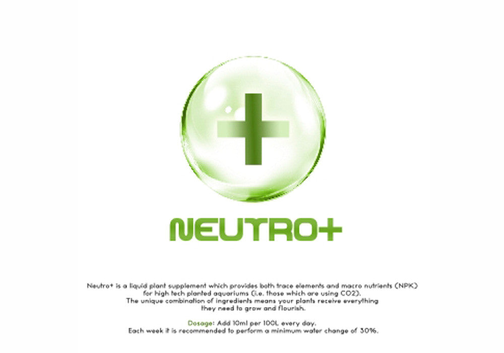 Liquid plant supplement for High Tech Planted Tanks - Neutro +