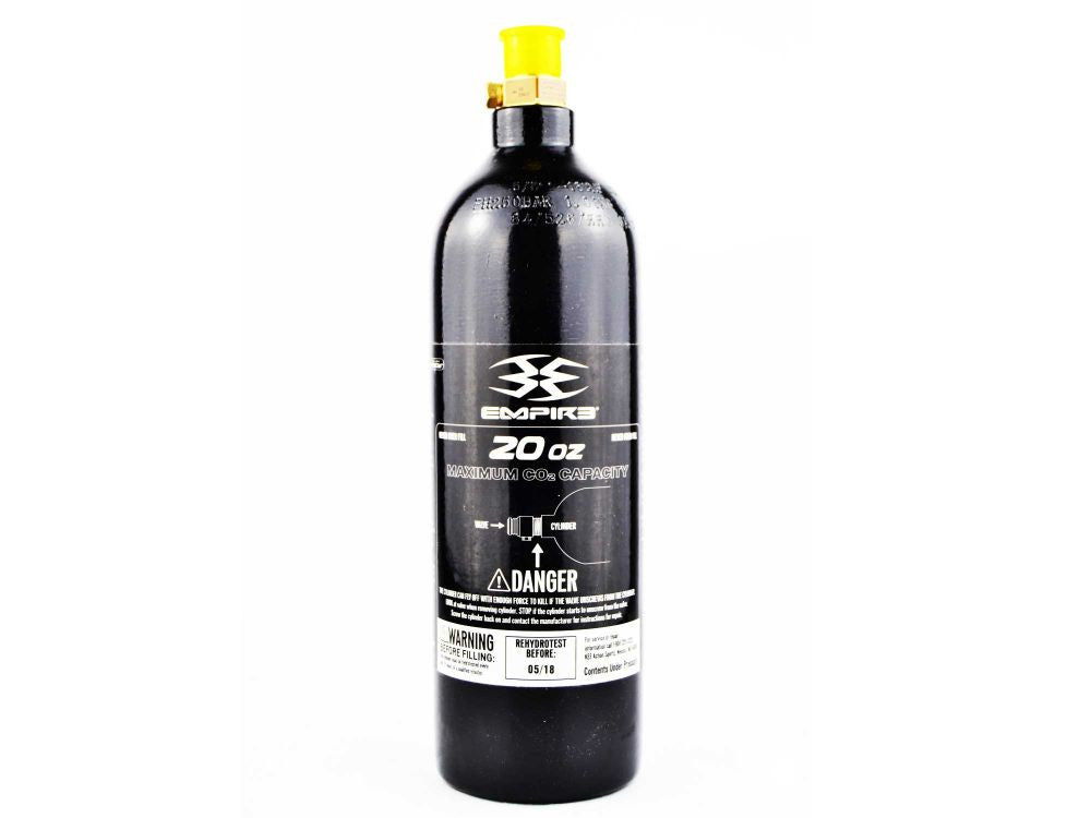 20 oz cilindro de paintball CO2 com Válvula Pin para Aquário Plantado - CO2Art.co.uk Aquarium CO2 Systems e Aquascape Specialists