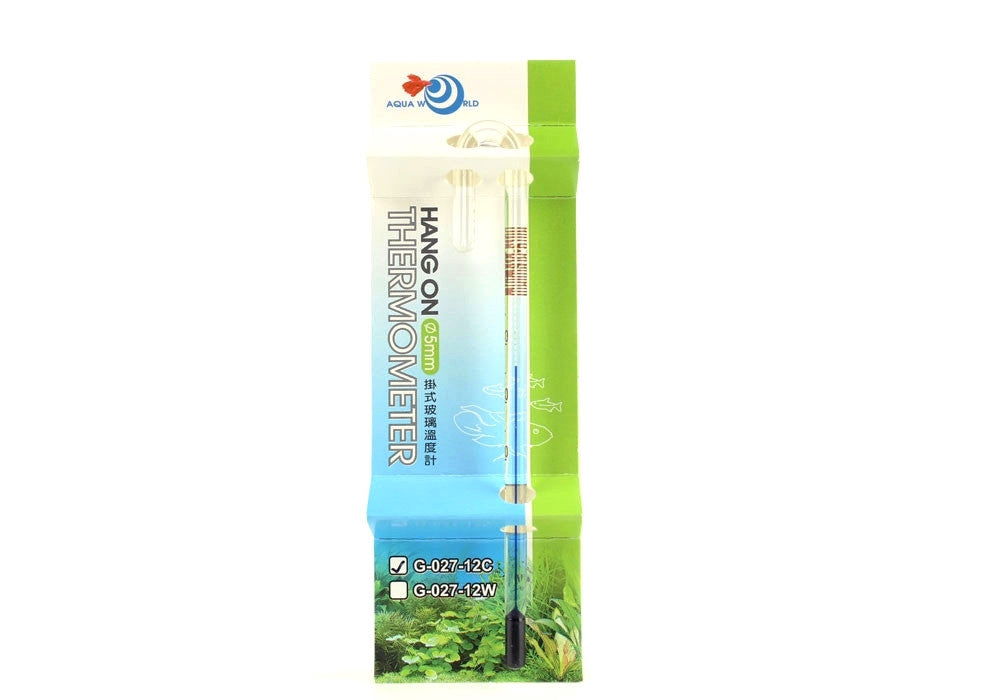 UP Premium Quality Nano Hang On Aquarium Thermometer - for 6mm glass