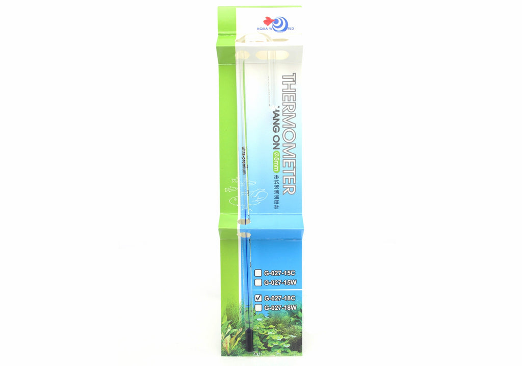 UP Premium qualité accrocher Thermomètre Aquarium - pour verre 12mm - CO2Art.fr | Aquarium CO2 Systems et Aquascape Specialists - 1
