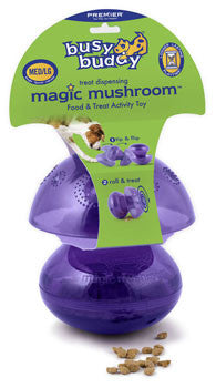 Magic Mushroom food dispensing interactive dog toy