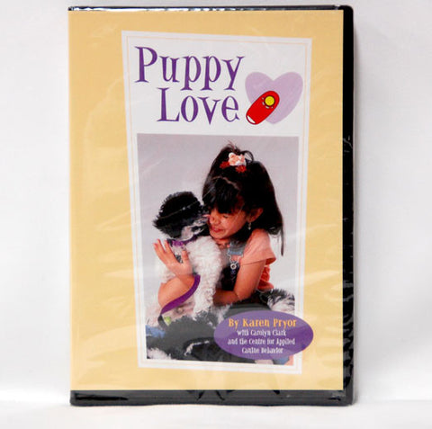 Karen Pryors Puppy Love DVD