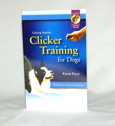 Clicker Trainng for Dogs. New to clicker training? This book will answer all your questions.