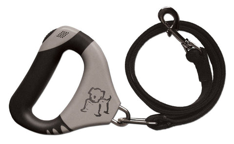 Clicker Leash has an ergonomic handle with a built in clicker