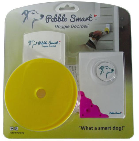 Pebble Smart Doggie Doorbell. Wireless.