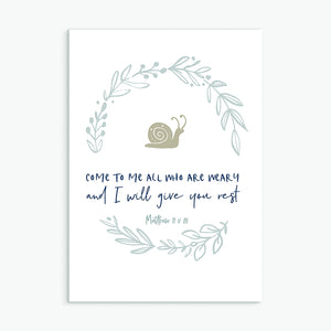 Come to me greeting card