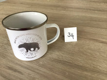 Load image into Gallery viewer, Wonkey Mug - 34 (Bear with one another in Love enamel mug)