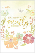 "Load image into Gallery viewer, ""Wait Quietly"" prayer journal"