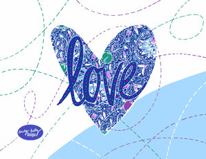 """Love"" by Emily Kelly - Print"