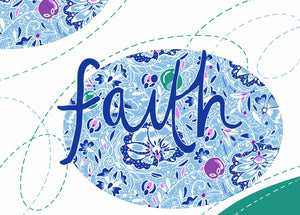 """Faith"" by Emily Kelly - Framed Print"